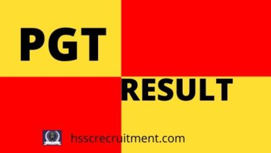 Photo of HTET Result For PGT (Level-3) 2019-20 Haryana TET Result by Name and Roll Number