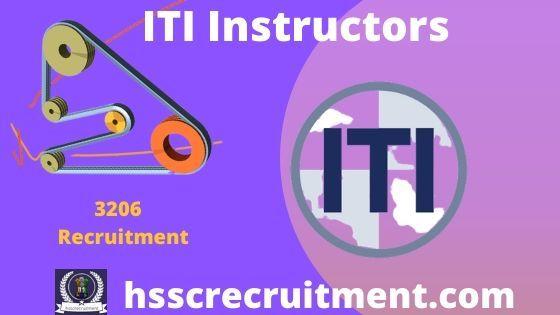 Haryana ITI Instructor