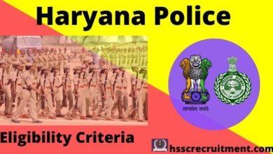 Photo of Haryana Police Female Constable Eligibility Criteria 2019-20