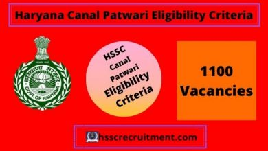 Photo of HSSC Canal Patwari Eligibility Criteria