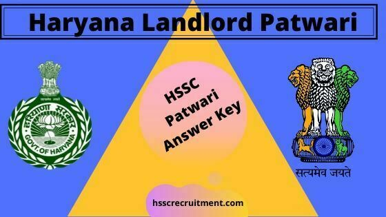 Download Haryana HSSC Patwari Answer Key