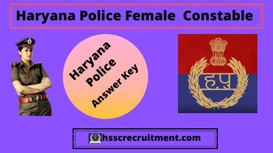 Haryana Police Constable Female Answer Key