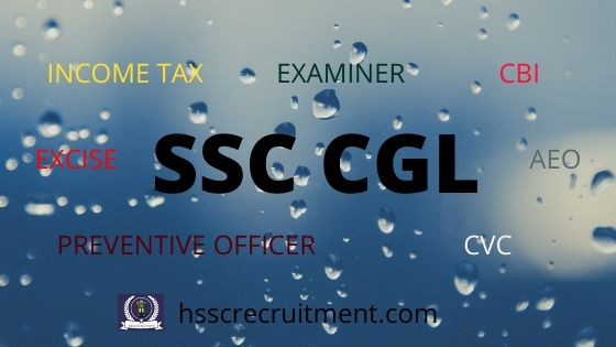 Download SSC CGL Admit Card | NWR | NR | SR | WR | CR (2020)
