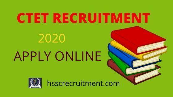 CBSE CTET Recruitment